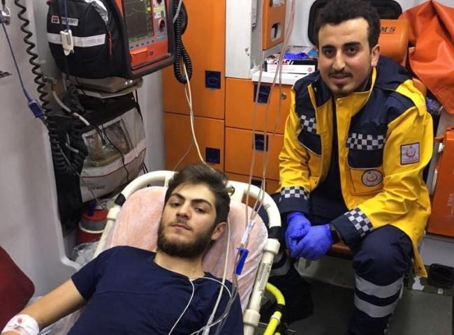 Uçak ambulans Halil İbrahim için havalandı