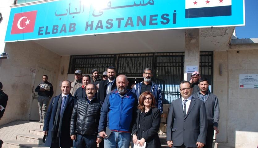 Gaziantep İl Sağlık Müdürü Doç. Dr. Abdulkadir TurgutEL-BAB'da