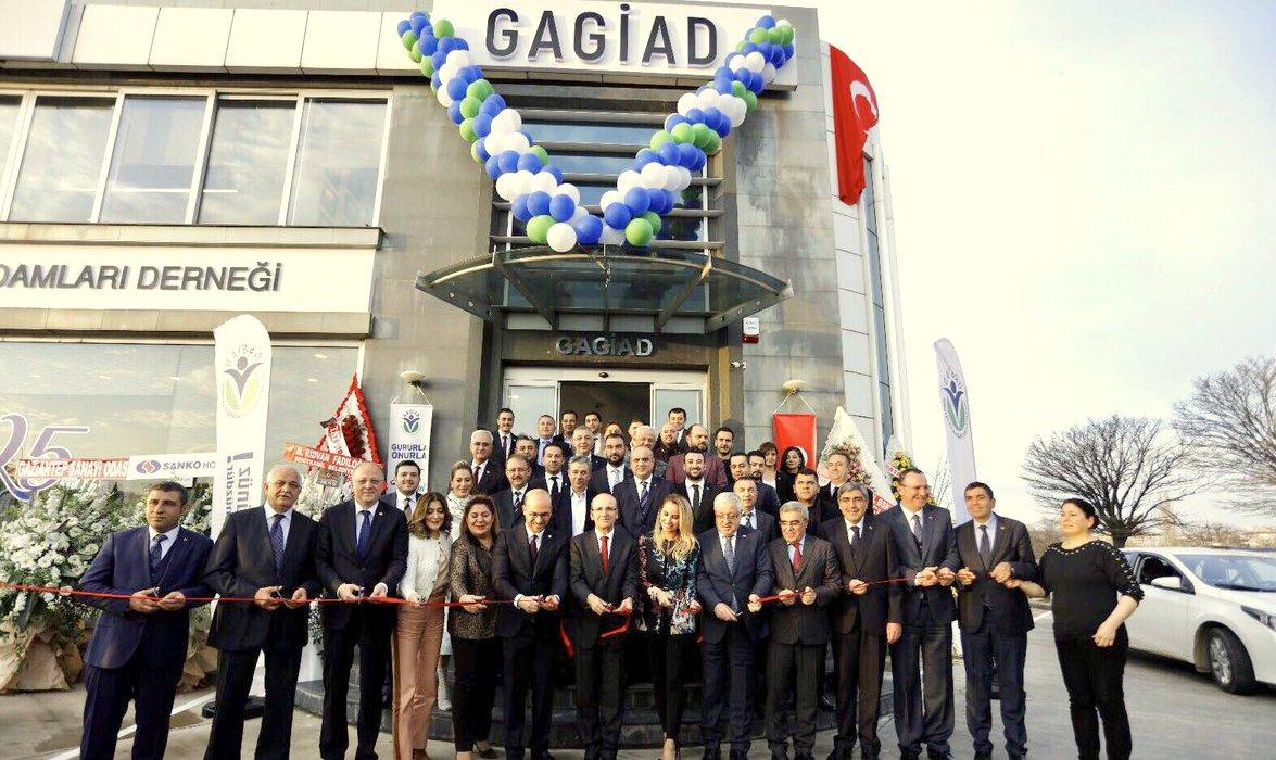Başbakan Yardımcısı Şimşek, GAGİAD'ın yeni hizmet binasını açtı
