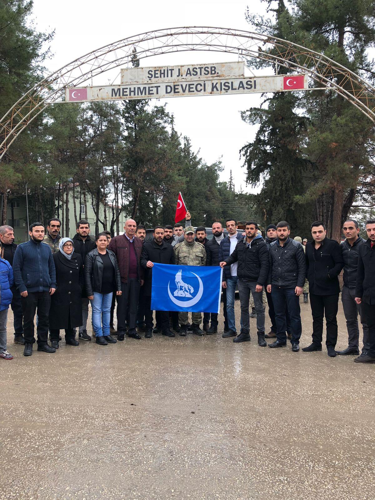 Kilis Ülkü Ocakları'ndan Afrin'e destek