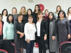 Gaziantep MHP Kadın Kolları yönetimi toplandı