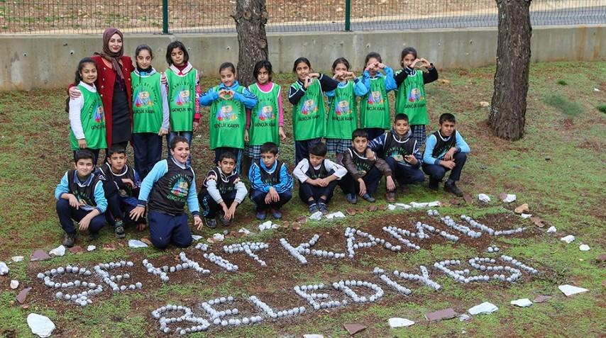 Gençlik kampı 1 yılda 12 bin kişiyi misafir etti