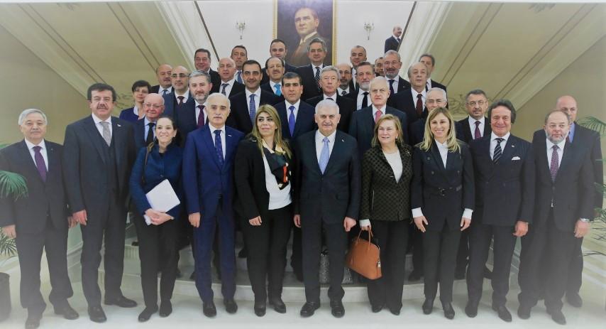 Mahsum Altunkaya Başbakan Binali Yıldırım'la görüştü