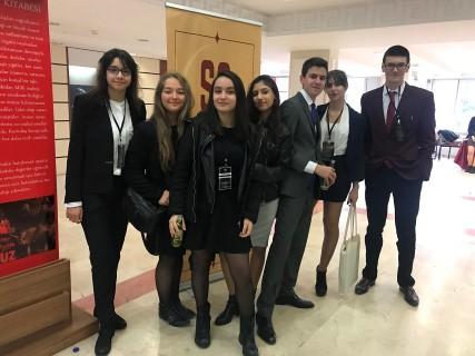 GKV'liler Birleşmiş Milletler Simülasyonu Konferansına katıldı
