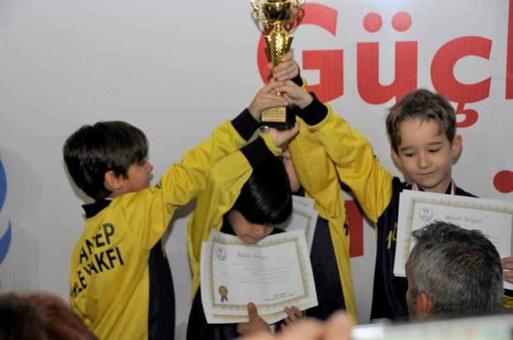 GKV'liler Artistik Cimnastik'te 7 madalya kazandı