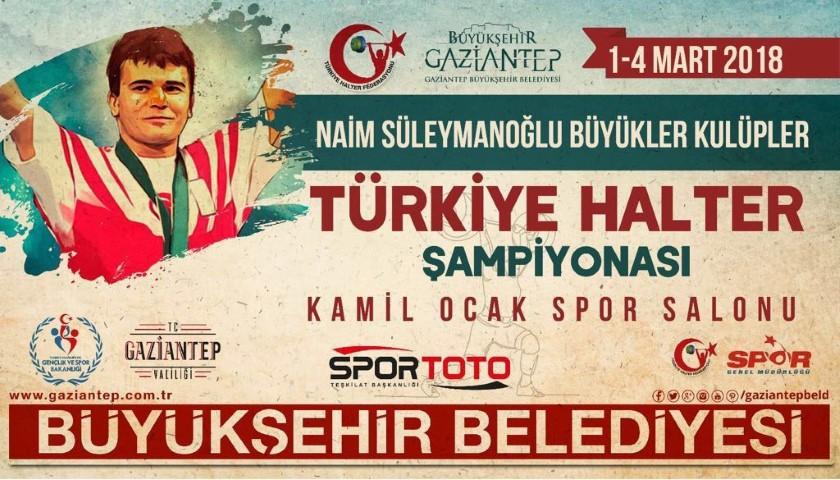 Naim Süleymanoğlu Türkiye Halter şampiyonası başlıyor