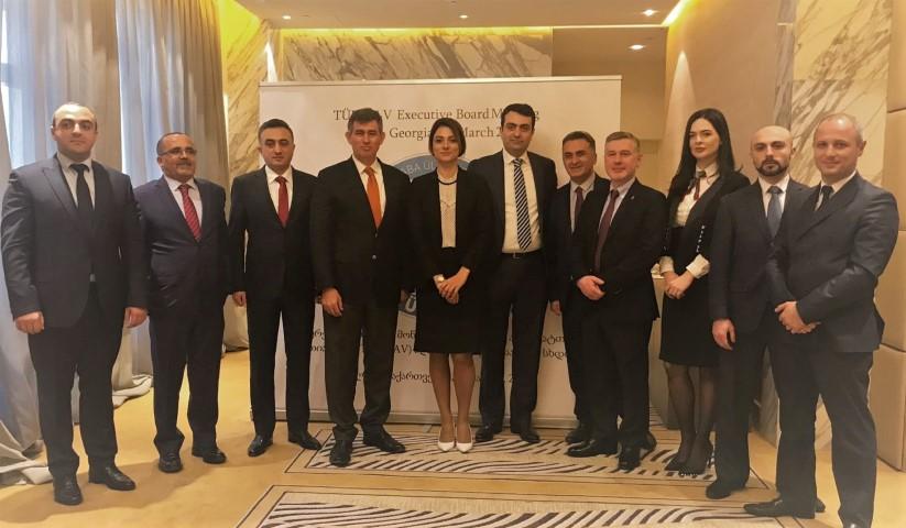 TÜRK-AV Yönetim Kurulu toplantısı Gürcistan'da yapıldı
