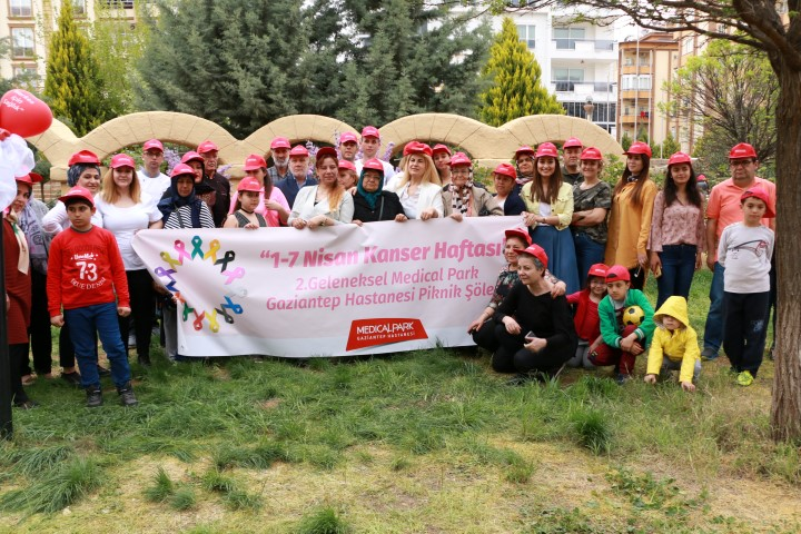 Kanser hastaları Medical Park Gaziantep'in düzenlediği piknikte buluştu