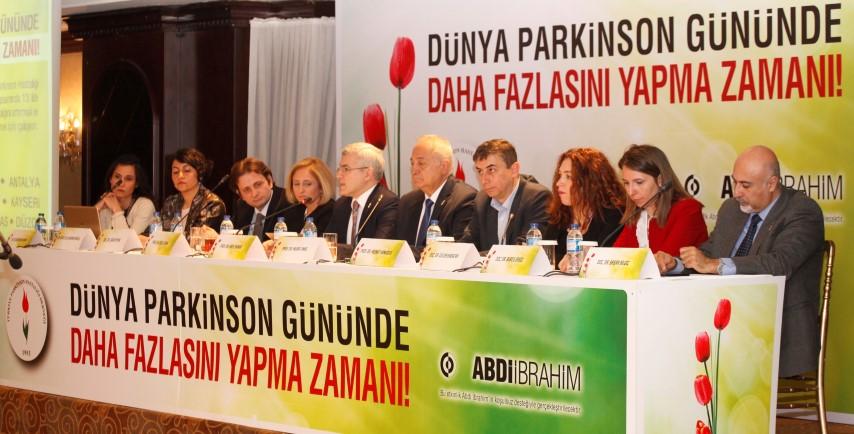 13 ilde Parkinson Hastalığı bilgilendirme toplantısı düzenlendi