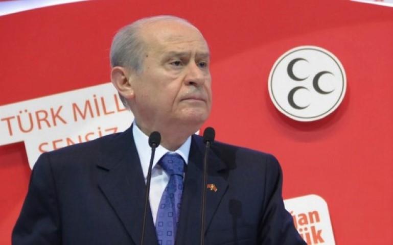 """Bahçeli: """"Türkiye'nin gündeminde erken seçim yoktur"""""""