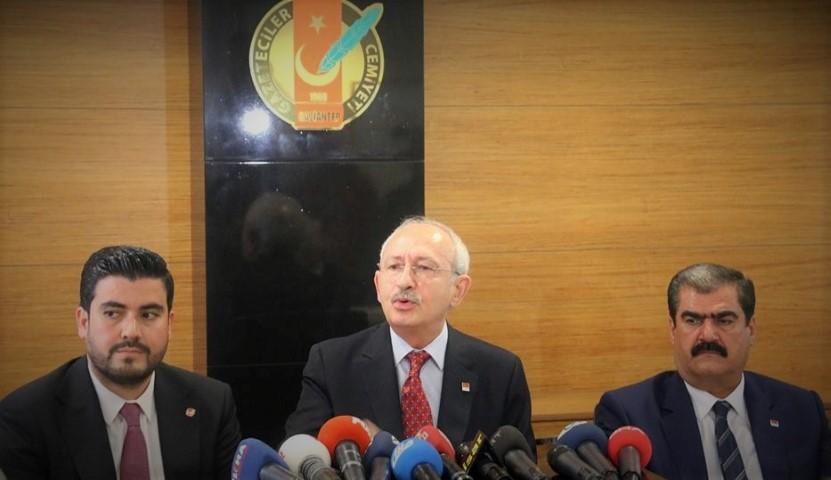 CHP Genel Başkanı Kılıçdaroğlu, GGC'ni  ziyaret etti