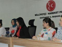 MHP'li Sırakaya, kadınların tam desteğini aldı