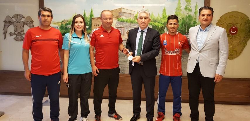 Gaziantep Polisgücü EuroHockey Indoor Club Trophy liginde