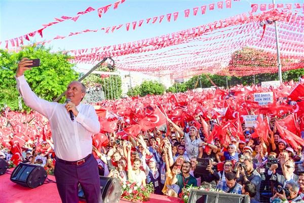 """İnce Gaziantep'te konuştu,"""" Bu seçimin kaybedeni olmayacak"""""""