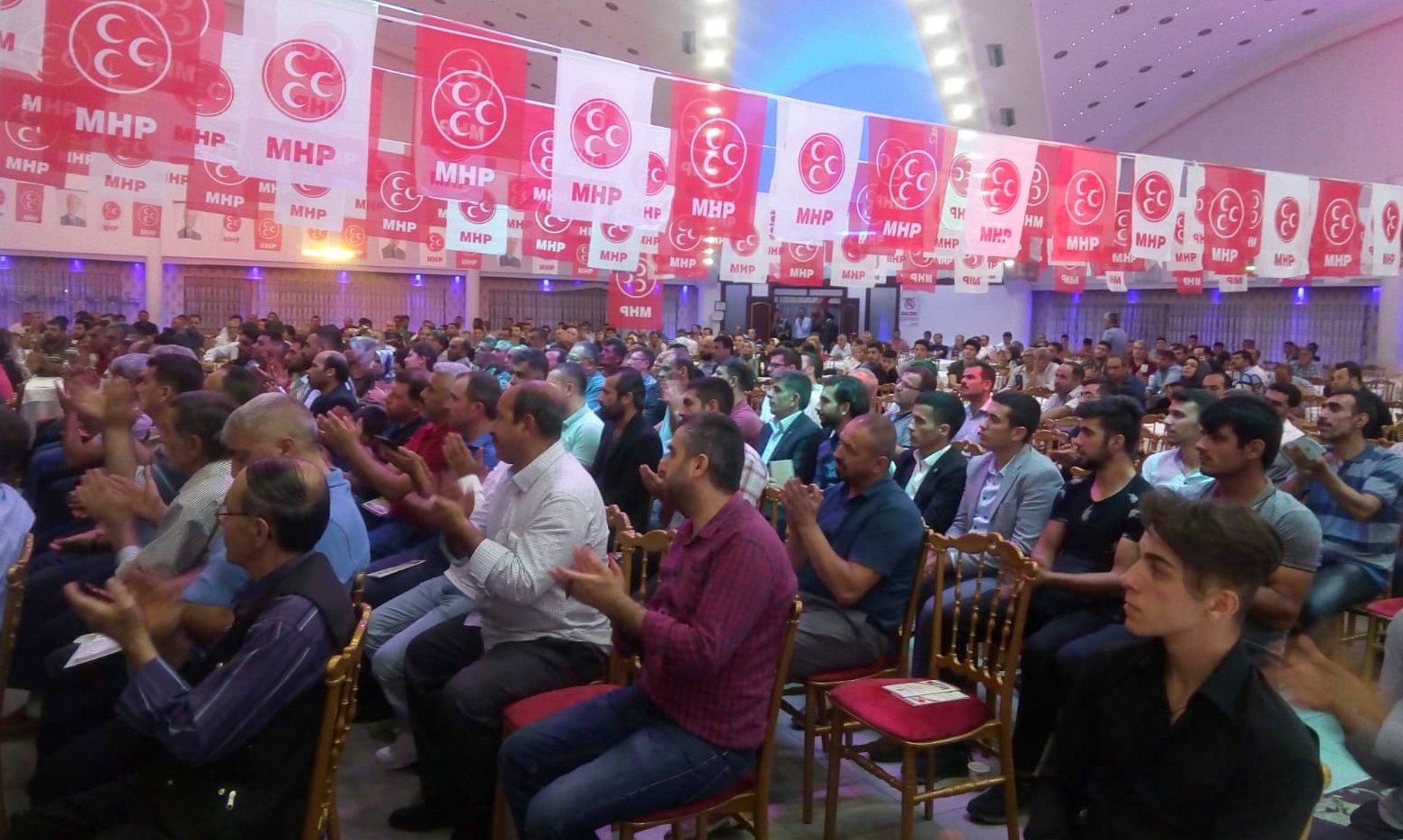 Gaziantep MHP, sandık görevlileri ve müşahitlere eğitim programı düzenledi