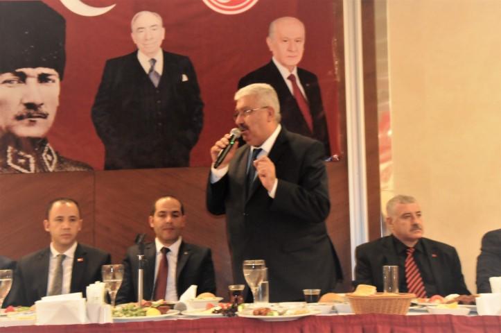 """MHP'li Yalçın, """"24 Haziran seçimlerinin sonuçları bellidir"""""""