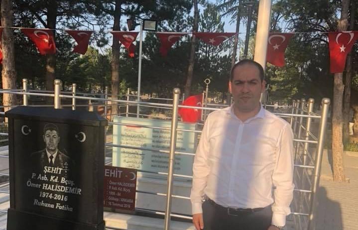 Gaziantep MHP İl Başkanı Ankara'da