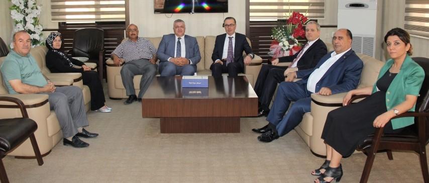 Vergi Dairesi Başkanı TEKİN'DEN, GTB'ye ziyaret