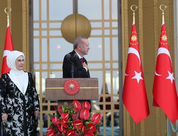 Cumhurbaşkanı Erdoğan TBMM'de yemin etti