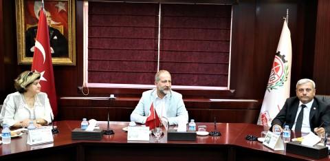 Gaziantep'te seyahat acentelerinin sorunları GTO'da masaya yatırıldı