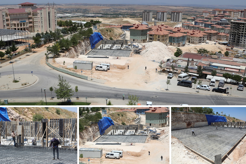 Şehitkamil'den çamlıtepe mahallesi'ne yeni ticaret merkezi