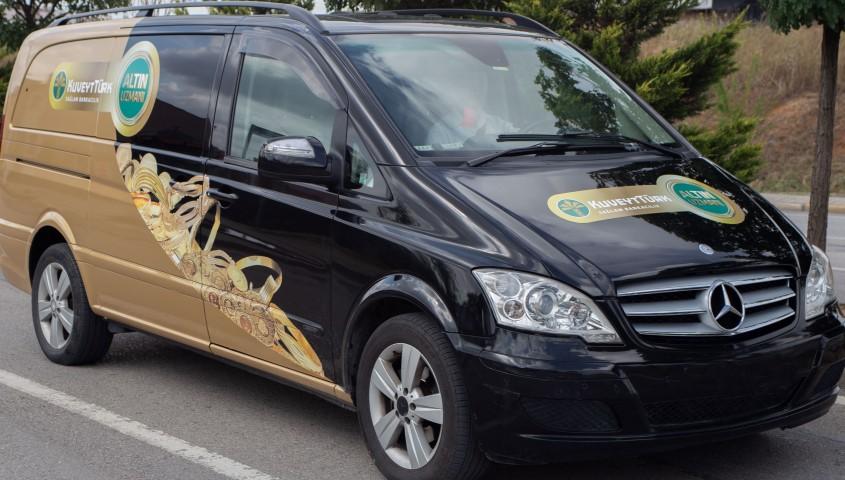 Kuveyt Türk'ün altın aracı Türkiye turunda