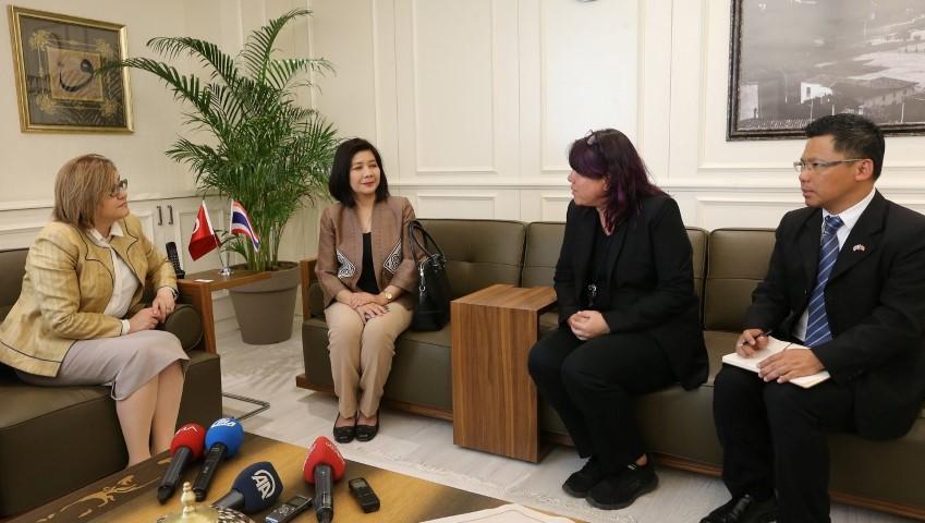 Taylandlı turistler rotayı Gaziantep'e çevirecek
