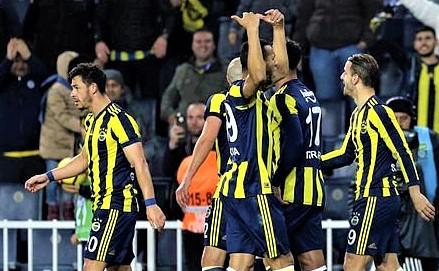Fenerbahçe Şampiyonlar Lig'ine veda etti