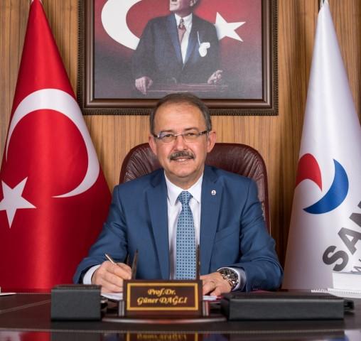 SANKO Üniversitesi Rektörü Prof. Dr. Dağlı'dan Gaziantep'in Kurtuluş Bayramı Mesajı