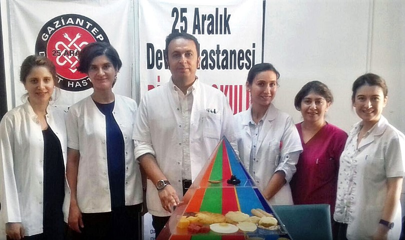 25 Aralık Devlet Hastanesi'nde Prediyabet Okulu Açıldı