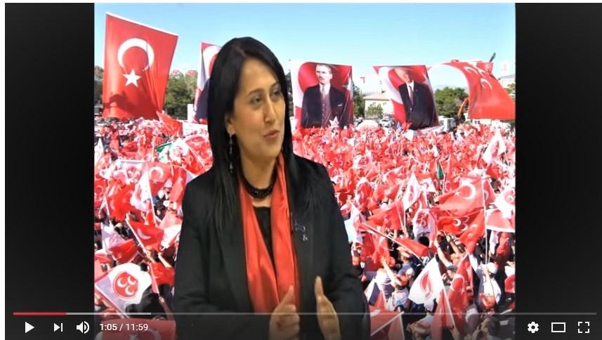 MHP Gaziantep Milletvekili Adayı Mezine SIRAKAYA