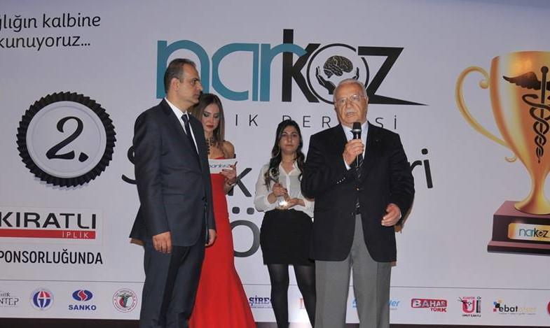 Narkoz Sağlık Dergisi 2.Sağlık Ödülleri Töreni