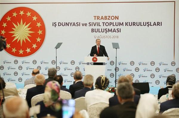 """Cumhurbaşkanı Erdoğan, """"Gece gündüz demeden çalışmayı sürdüreceğiz"""""""