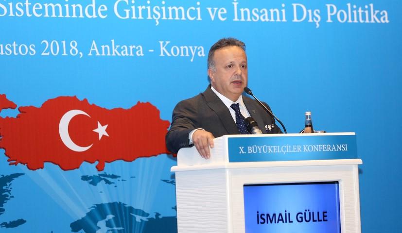 TİM Başkanı İsmail Gülle Büyükelçilerden ihracata destek istedi