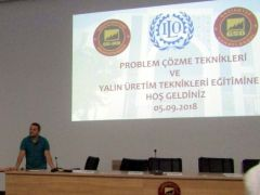 """GSO-MEM'de, """"Problem çözme teknikleri eğitimi gerçekleştirildi"""
