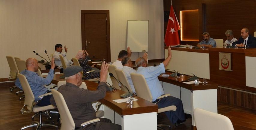 Oğuzeli Belediyesi Eylül ayı meclisi toplandı