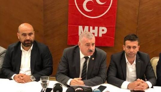 """MHP'li Atay, Havayolu şirketlerine """"Gaziantep yolunacak kaz mı?"""" diye sordu"""
