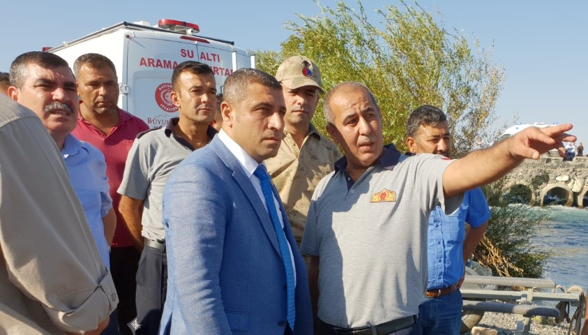 Taşdoğan, kaza yerinde incelemelerde bulundu
