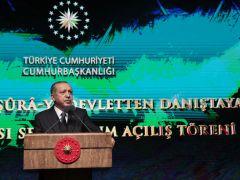 Cumhurbaşkanı Erdoğan, Şûra-yı Devlet'ten Danıştay'a Uluslararası Sempozyumu'nda konuştu