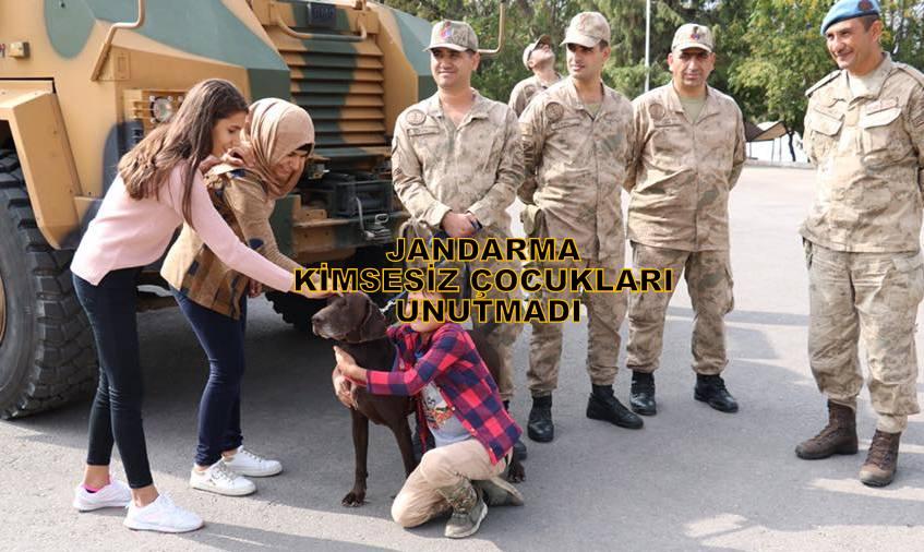 Kilis Jandarma Kimsesiz Çocukları unutmadı