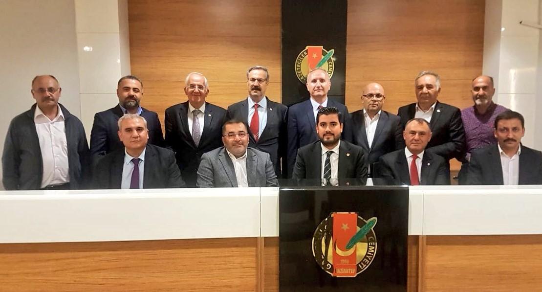 Oğuzboyları Federasyonu Gazeteciler Cemiyetini ziyaret etti