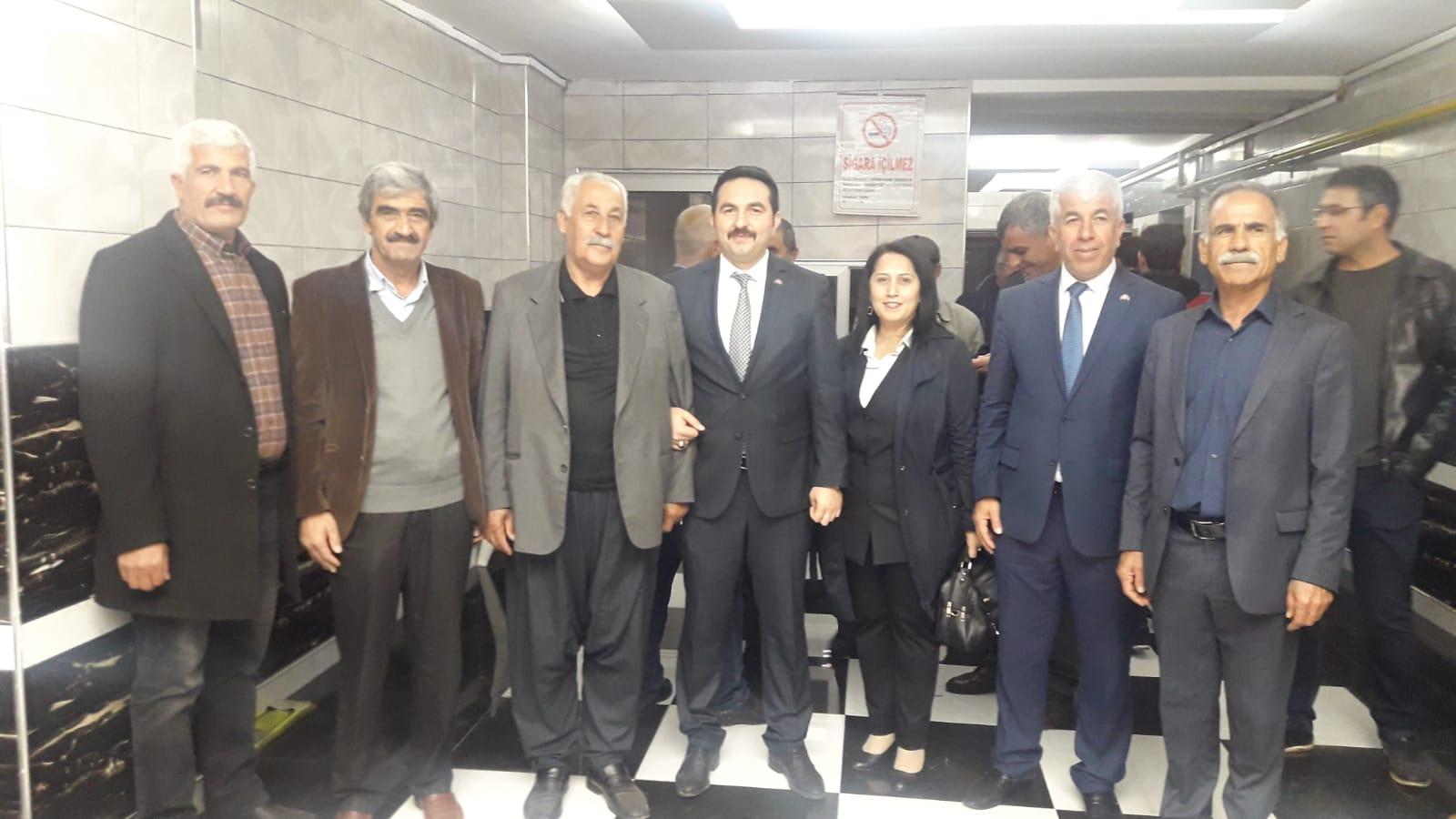 MHP'li Ökkeş Şentürk İslahiye aday adaylığını açıkladı