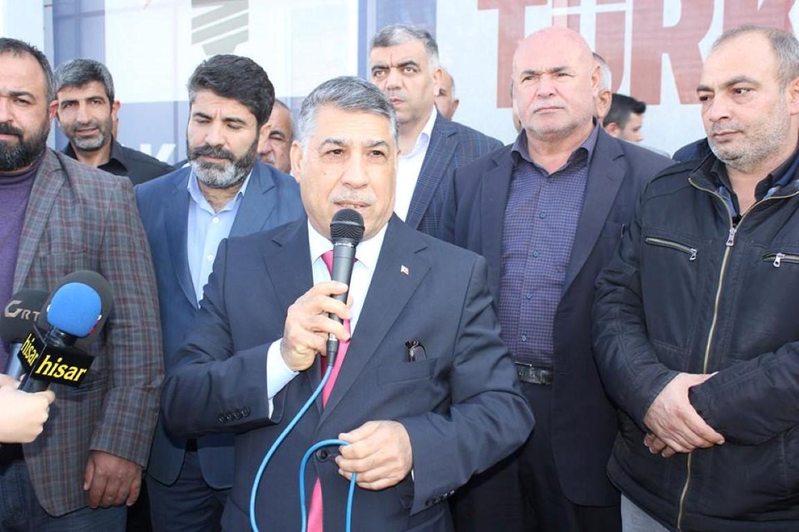 Bekir Öztekin Şehitkamil Belediye Başkanlığına Aday Adaylığını açıkladı