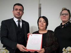 Zahide Tabur MHP'den Meclis Üyesi Aday adaylığını açıkladı