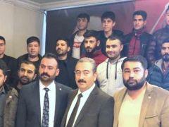 CHP Şahinbey'de katılım
