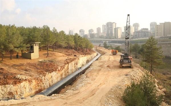 DÜZBAĞ Projesi inşaatı şehir merkezine ulaştı