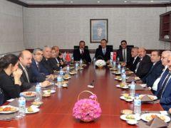 GSO Heyetinden GAOSB Başkanı Mustafa Topçuoğlu'na ziyaret