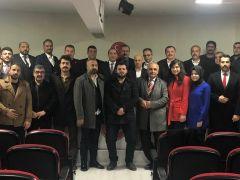 Gaziantep MHP İl Başkanı Çelik, yeni Yönetim Kurulu'nu açıkladı