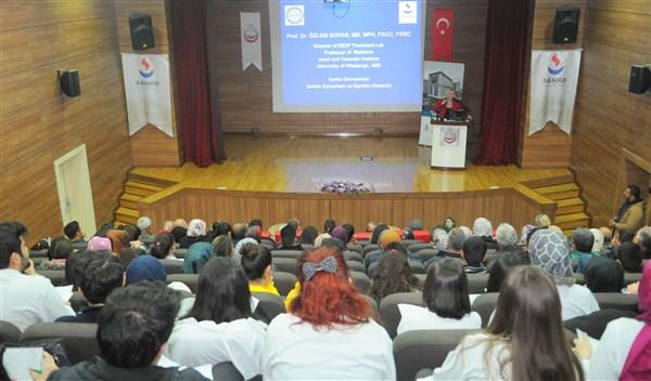 SANKO Üniversitesi Oğuzeli'nde halka açık konferans düzenlendi