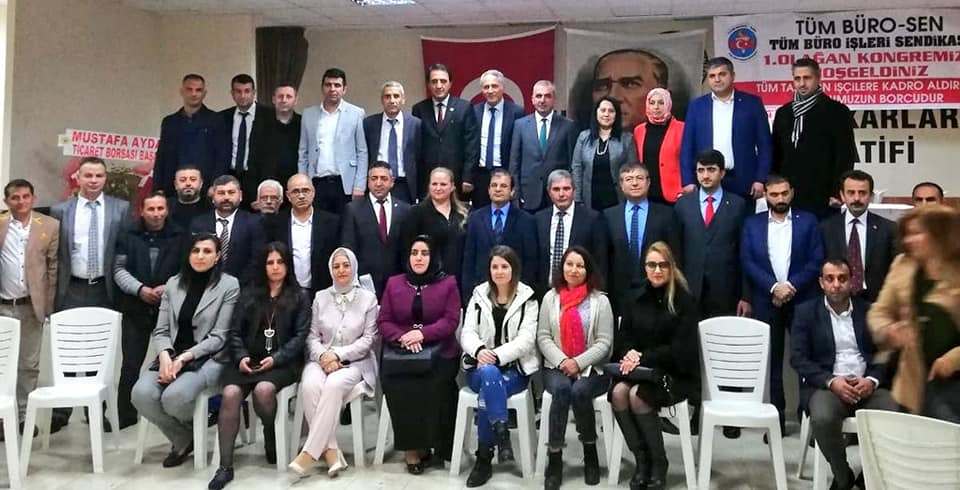Önük, TÜM BÜRO-SEN Başkanlığına seçildi